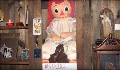 """Annabelle"" le dio susto al rollete voi"