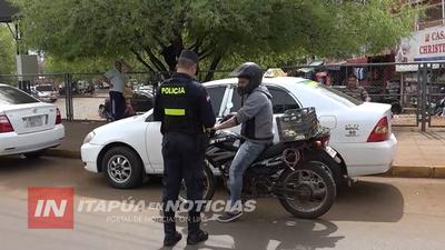 CONTROLES ESTRICTOS EN ENCARNACIÓN ESTE FIN DE SEMANA