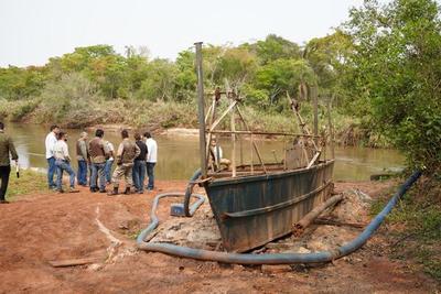 Constatan sitios utilizados como puertos clandestinos en el área de embalse de ITAIPU