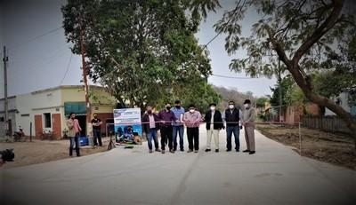 Gobernación sigue habilitando mejoras en Fuerte Olimpo