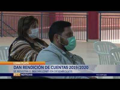 CONSEJO LOCAL DE SALUD DE LOMA PLATA REALIZÓ LA RENDICIÓN DE CUENTAS DEL AÑO 2019/2020