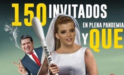 ¿Aglomeración permitida?: Memes sobre boda de Sol Cartes inundan las redes
