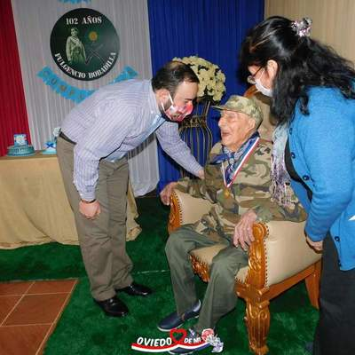 Celebran 102 años de excombatiente de la Guerra del Chaco – Prensa 5