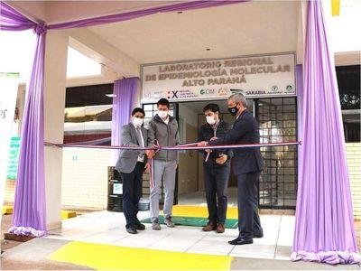 Gracias al aporte de USD 400.000, el Grupo Sarabia posibilita inauguración de laboratorio en Alto Paraná