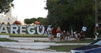 """Arrancan fuertes controles en Areguá: """"La gente considera que la ciudad está en fase 4"""""""