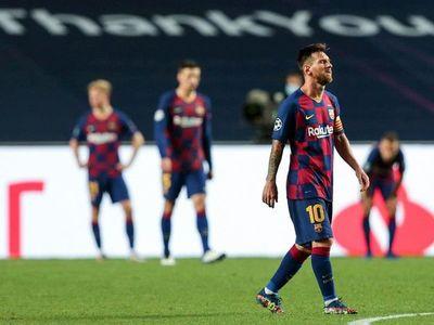 El doloroso final de una temporada nefasta para el Barcelona