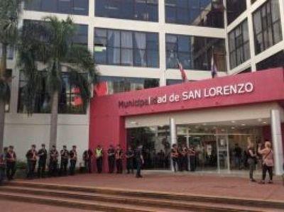 Tras varios casos confirmados de COVID-19 cierran por 15 días Municipio de San Lorenzo