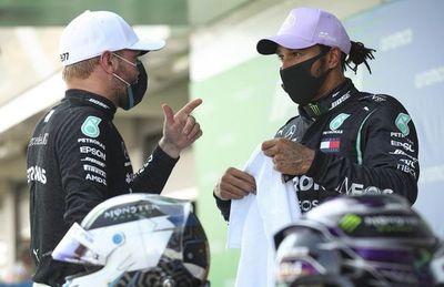 Hamilton y Bottas comparten  la primera fila en el GP de España