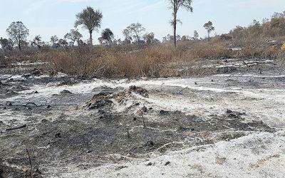 Persiste riesgo de incendios en el Chaco