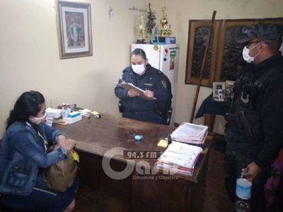 Detienen a mujer que intentó meter cocaína en penal de CDE