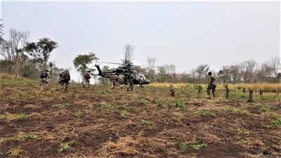Paraguay y Brasil inician operativo contra el narcotráfico en Amambay