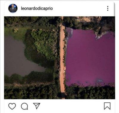 Leo Dicaprio alza la voz ante contaminación en laguna paraguaya