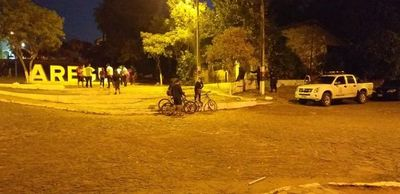 Controles evitaron que inadaptados se aglomeren en el centro de Areguá