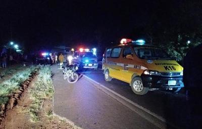 Adolescente pierde la vida tras impactar contra camioneta en Itá