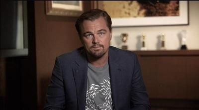 DiCaprio muestra al mundo la laguna teñida de rojo en Limpio