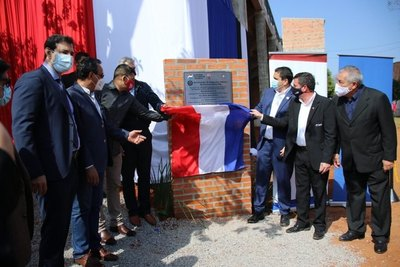 Ascenso: Mario Abdo asistió a la inauguración de mejoras de un club