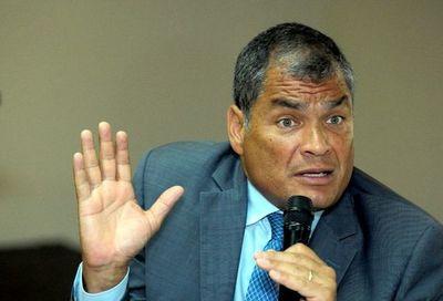 Expresidente Correa será candidato a vicepresidencia de Ecuador