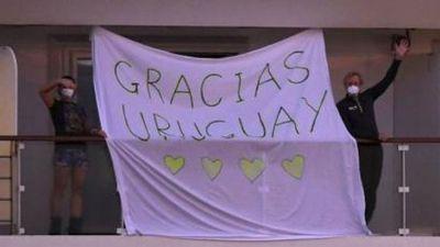 Solo quedan tres personas internadas con coronavirus en Uruguay
