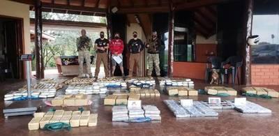 Incautan 310 kilos de cocaína en Amambay – Prensa 5