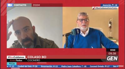 HOY / Colaso Bo, empresario gastronómico, sobre su experiencia con el COVID-19