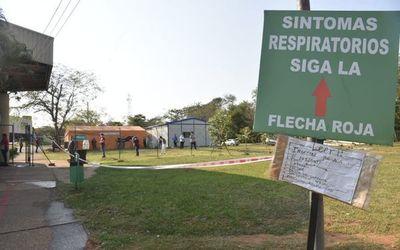 COVID-19: Solo quedan libres seis camas de terapia en Itauguá