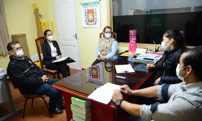 Coordinan control sobre cumplimiento de las medidas sanitarias en CDE