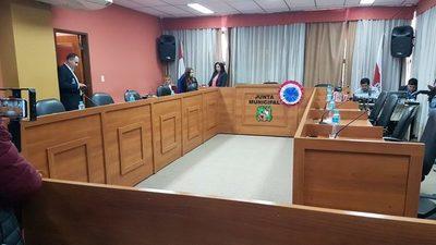 Junta Municipal hará este miércoles primera sesión virtual
