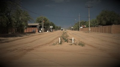 Lluvias llegaron a zonas puntuales del Chaco