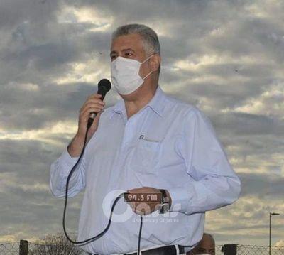 Intendente José Carlos Acevedo confirma que tiene Covid-19