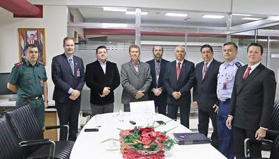 Cursantes del Instituto de Altos Estudios Estratégicos destacan rol social de la Fundación Tesãi.