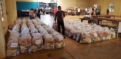 Alto Paraná: El Gobierno invirtió USD 3,1 millones en ayuda humanitaria