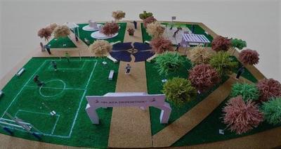 Ministra de la SND anuncia la construcción de 70 plazas deportivas