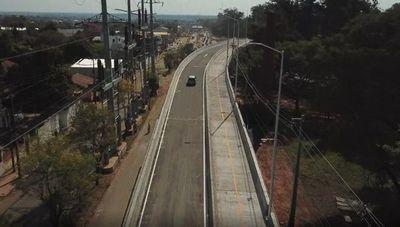 Consorcio D-R Costanera habilitó uno de los dos viaductos del Corredor Vial Botánico (antes de lo previsto)