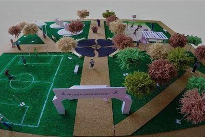 Anuncian la construcción de 70 plazas deportivas