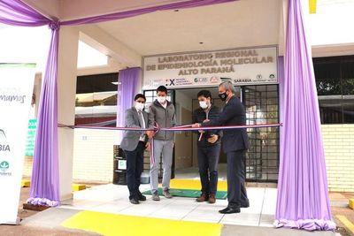 Grupo Sarabia inaugura laboratorio epidemiológico biomolecular en Alto Paraná