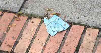 Aprueban multas para asuncenos que arrojan tapabocas a la calle