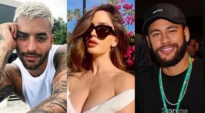 Polémica entre Neymar y Maluma genera sinfín de memes