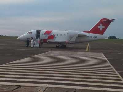 Aeropuerto Guaraní recibe vuelo humanitario