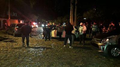 Ubers escracharon a Mazzoleni en repudio a la cuarentena de los fines de semana