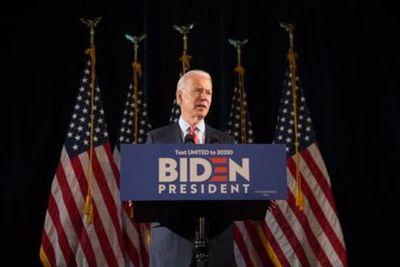 """Joe Biden: """"Con gran honor y humildad acepto esta nominación para presidente de Estados Unidos"""""""
