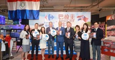 Carne paraguaya se expande en Taipei a través de cadena de supermercados