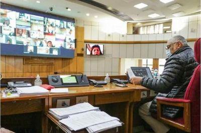 """""""Incapacidad"""" e """"ineptitud"""" de Mario Abdo disgustan a la oposición en el Senado"""