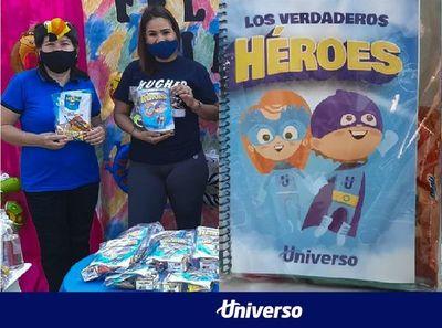 Universo apoya a las escuelas, en el Día del Niño