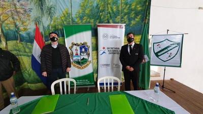 SND y comuna de Yaguarón construirán polideportivo municipal