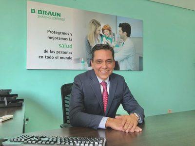 B. Braun, con más de ocho años de servicio en el país