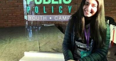 Sanlorenzana ganó beca para estudiar en el exterior