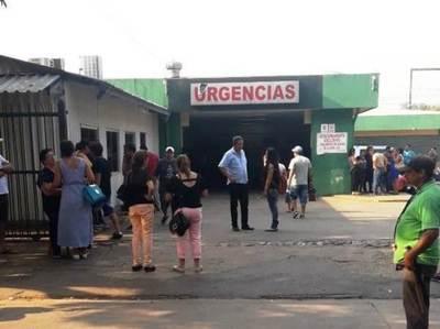 """Prohíben acudir en """"masa"""" al Hospital de Luque para evitar contagios de Covid •"""