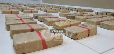 Senad detuvo a 4 personas con 122 kilos de cocaína en el Chaco