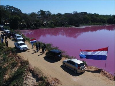 Pobladores se manifiestan contra impune daño ambiental a Laguna Cerro de Limpio