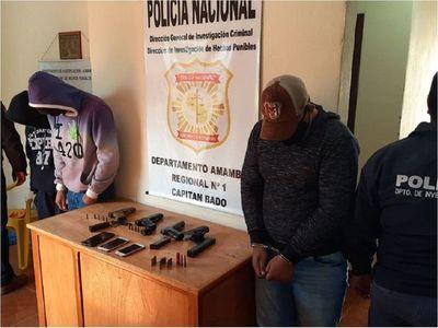 Tres aprehendidos y un detenido por muerte de jóvenes en Capitán Bado